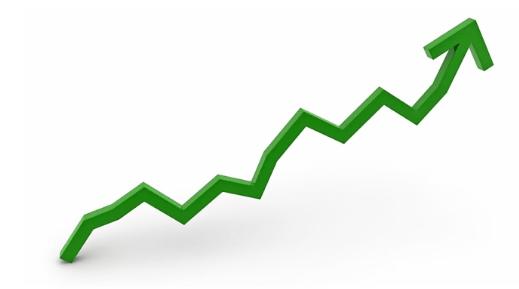 روند صعودی قیمت سهام